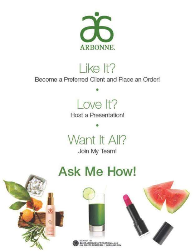 arbonne live love learn
